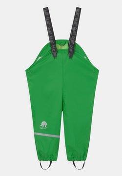 CeLaVi - OVERALL SOLID UNISEX - Pantalon de pluie - green