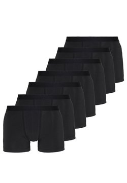 Pier One - 7 PACK - Onderbroeken - black