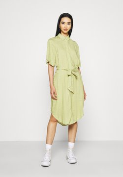 Monki - Blusenkleid - green
