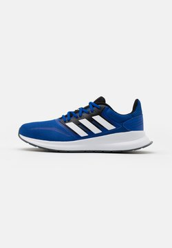 adidas Performance - RUNFALCON CLASSIC SPORTS RUNNING SHOES - Zapatillas de running neutras - royal blue/footwear white/core black