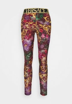 Versace Jeans Couture - Legging - rosso scuro