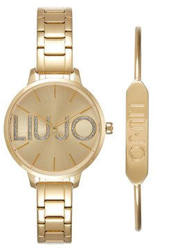 LIU JO - COUPLE SET - Zegarek - gold-coloured