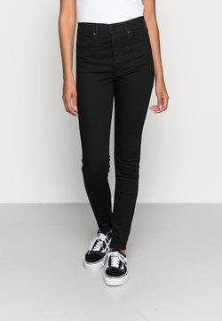 Levi's® - MILE HIGH SUPER SKINNY - Jeans Skinny Fit - black galaxy