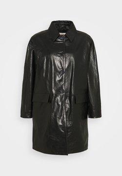 Alexa Chung - OVERCOAT - Giacca di pelle - black