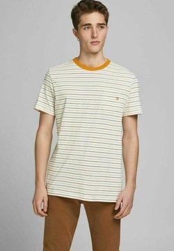 Jack & Jones PREMIUM - REGULAR FIT - T-Shirt print - whisper white