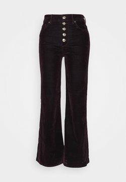 Tommy Hilfiger - ICON BOOTCUT - Spodnie materiałowe - deep burgundy