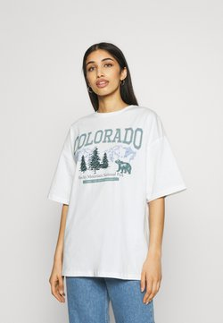 Even&Odd - T-shirts print - off white