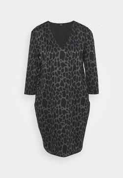 Wallis - PEBBLE DRESS - Vestido ligero - grey/black