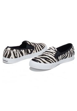 Timberland - Slipper - black and white zebra