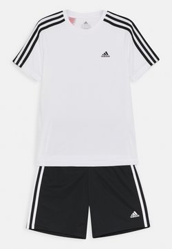 adidas Performance - SET - Träningsshorts - white/black
