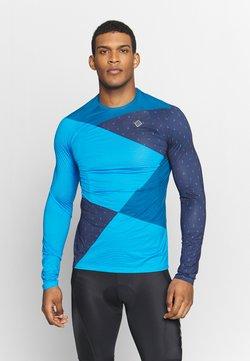 Triple2 - Langarmshirt - mykonos blue