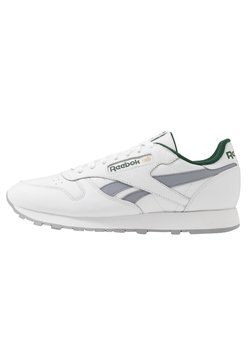 Reebok Classic - Sneaker low - white/collegiate shadow/utility green