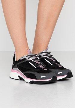 HUGO - GILDA RUNN - Sneakers laag - black