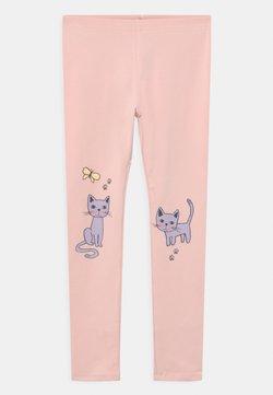 Lindex - MINI CAT PRINT - Leggingsit - light dusty pink