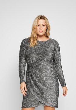 MICHAEL Michael Kors - WRAP - Cocktail dress / Party dress - black/silver