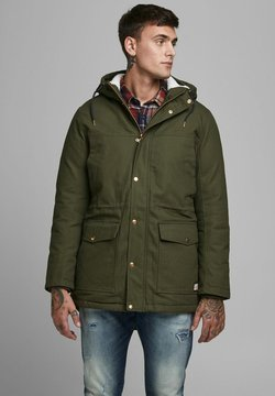 Jack & Jones - BASIC - Wintermantel - forest night
