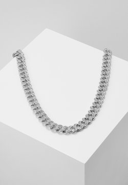 Vintage Supply - STONE CHAIN - Halsband - silver-coloured