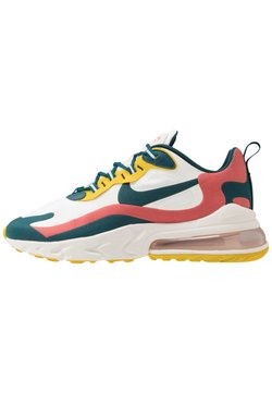 Nike Sportswear - AIR MAX 270 REACT - Sneakers laag - summit white/midnight turqoise/pueblo red/saffron quartz/white/black