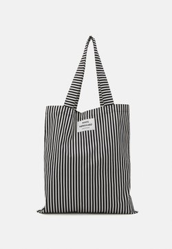 Mads Nørgaard - SACKY ATOMA - Shopping bag - black/off white