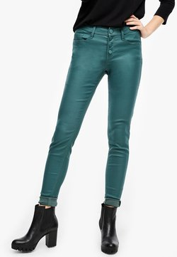 Q/S designed by - Jeans Skinny Fit - petrol