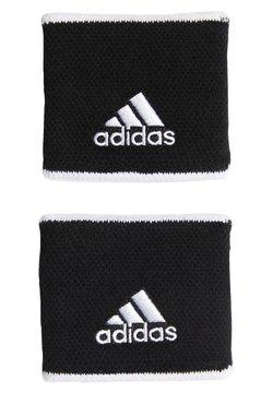 adidas Performance - TENNIS WRISTBAND SMALL - Schweißband - black