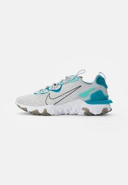 Nike Sportswear - NIKE REACT VISION - Baskets basses - pure platinum/smoke grey-aquamarine-tropical twist-white