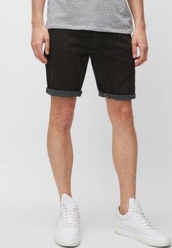 Marc O'Polo DENIM - MATS  - Jeansshort - black