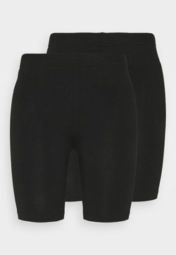 Vero Moda Tall - VMMAXI BIKER SHORTS 2 PACK  - Shortsit - black