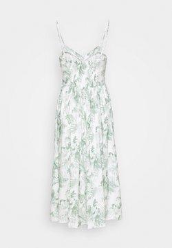 Mavi - BUTTON DRESS - Freizeitkleid - antique white