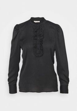 Freequent - DOBBY - Blouse - black