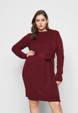 Anna Field Curvy - Robe pull - dark red