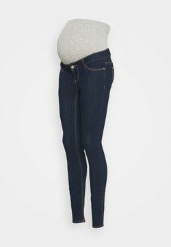 Pieces Maternity - PCMDELLA - Jeans Skinny Fit - dark blue denim