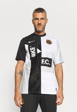 Nike Performance - FC HOME - T-Shirt print - black/white/pure platinum