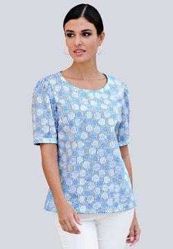 Alba Moda - Bluse - weiß,blau
