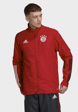 adidas Performance - FC BAYERN PRESENTATION TRACK TOP - Vereinsmannschaften - red