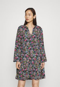 JDY - JDYLION LAYER DRESS - Freizeitkleid - black/multicolour