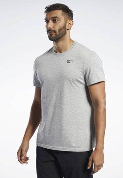 Reebok - TRAINING ESSENTIALS CLASSIC TEE - T-Shirt basic - grey