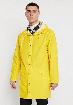 Rains - LONG JACKET UNISEX - Regenjacke / wasserabweisende Jacke - yellow