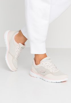 Skechers Sport - FLEX APPEAL 3.0 - Sneakers laag - natural/pink