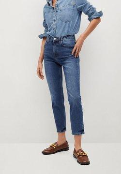 Mango - NEWMOM - Slim fit jeans - tmavě modrá