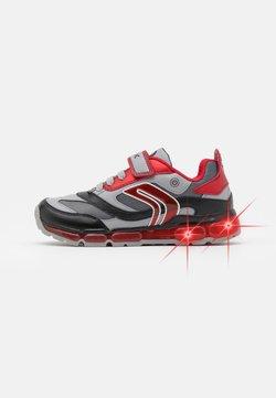 Geox - BOY - Sneaker low - grey/red