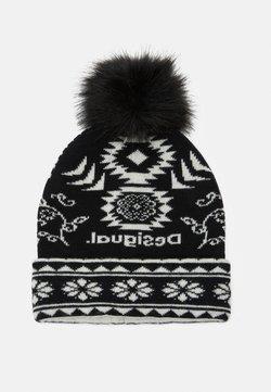 Desigual - HAT ETHNIC REVERSIBLE - Mütze - black