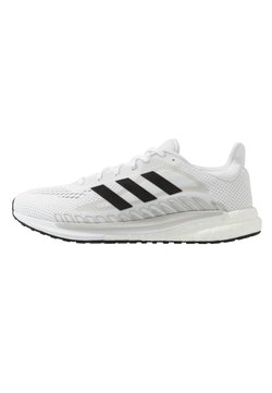 adidas Performance - SOLAR GLIDE BOOST SHOES - Zapatillas de running neutras - footwear white/core black/signal green