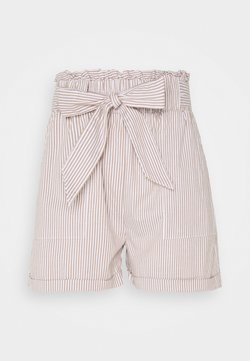ONLY Tall - ONLSMILLA STRIPE BELT - Shorts - toasted coconut/white