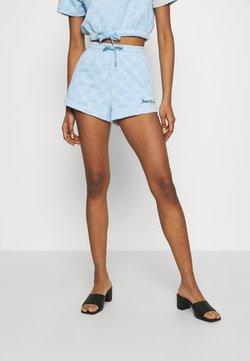 Juicy Couture - TOWEL SUKI - Shorts - powder blue
