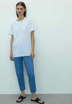 Massimo Dutti - T-shirt basic - white