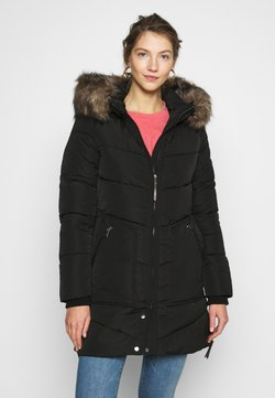 ONLY - ONLROONA QUILTED COAT - Wintermantel - black