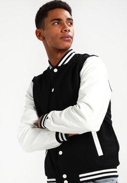 Urban Classics - OLDSCHOOL COLLEGE - Light jacket - black / white