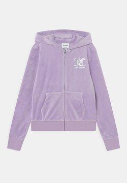 Juicy Couture - ZIP THROUGH HOODIE - Vetoketjullinen college - lilac