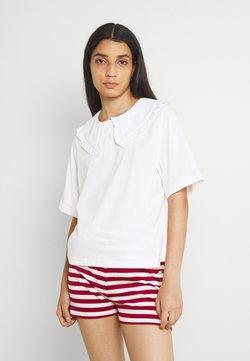 Monki - MAGNHILD TEE - T-shirt con stampa - white light